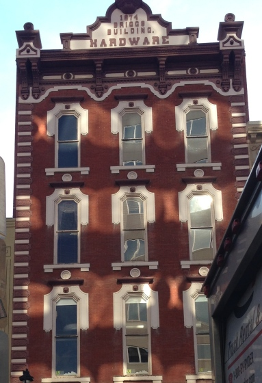 These windows distort the light, so images cannot appear true when viewed through this distorted lens.